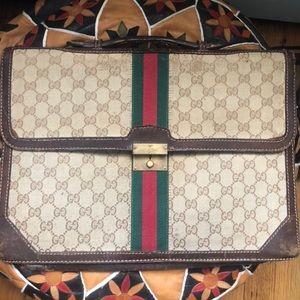 Gucci Vintage Case Bag
